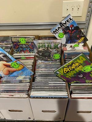 Discounted TPBs at Austin Books & Comics
