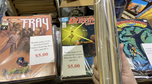 Comic Bulk Packs at Austin Books & Comics